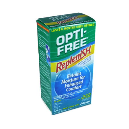 Opti-Free RepleniSH 120ml + lens case
