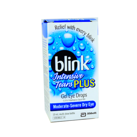 Blink Intensive Plus Eye Gel Drops