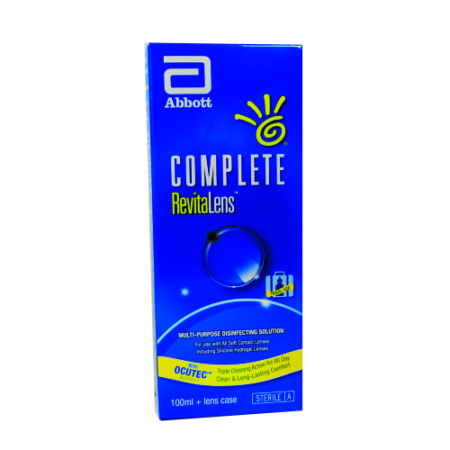 Complete Revitalens Ocutec 100 ml Solution